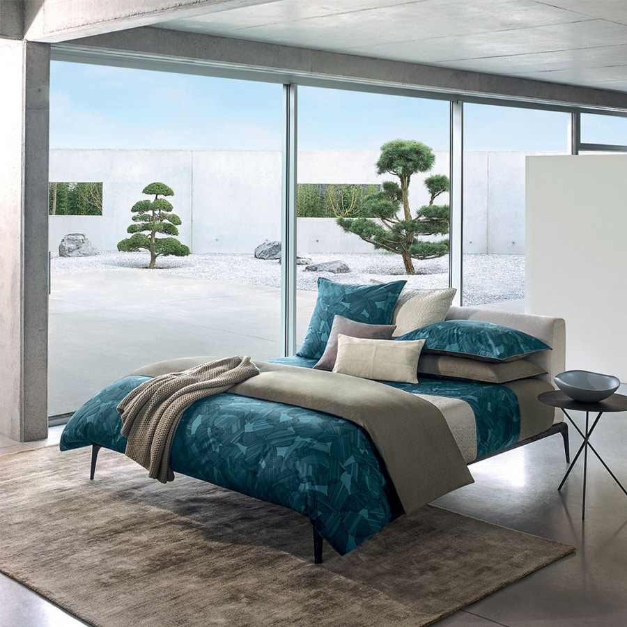 hugo boss linge de lit miral euphoria indigo nuits de r ve literie et linge de lits nantes. Black Bedroom Furniture Sets. Home Design Ideas